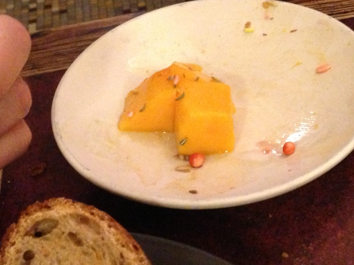 the mango thing that made up for m's disappointment