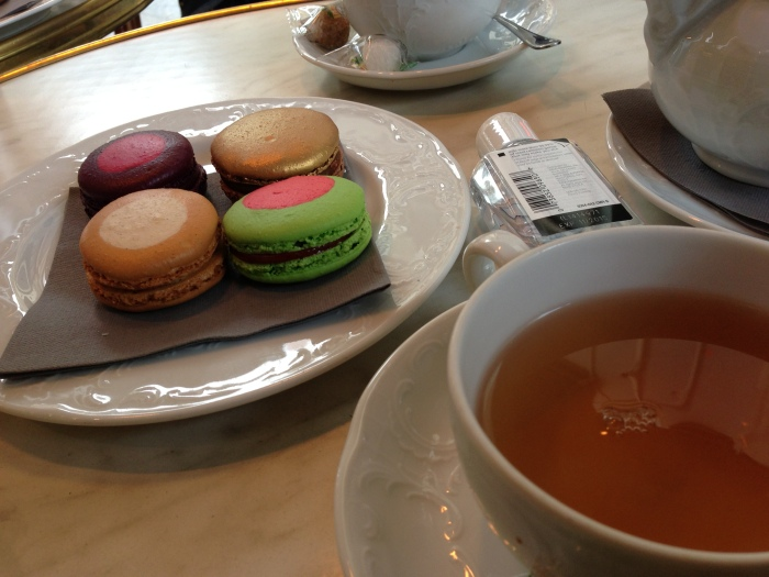 ... which ended up the best macarons of the trip!  great filling and profound flavors!