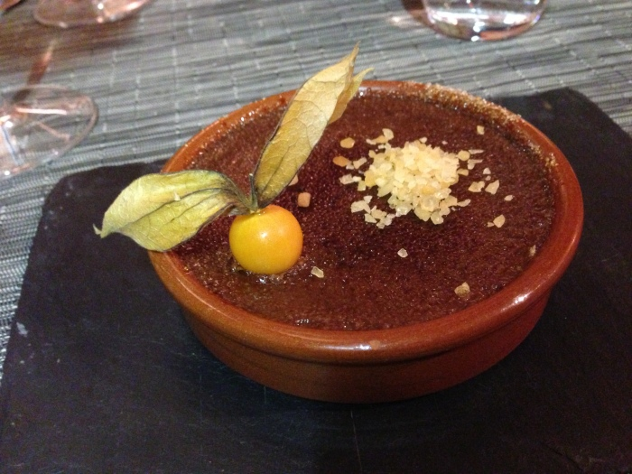 nutella creme brulee ... with POP ROCKS